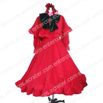 Rozen Maiden Pure Ruby Halloween Cosplay Costume  any size