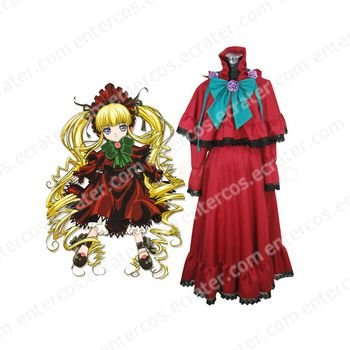 Rozen Maiden Shinku Lolita Cosplay Costume  any size