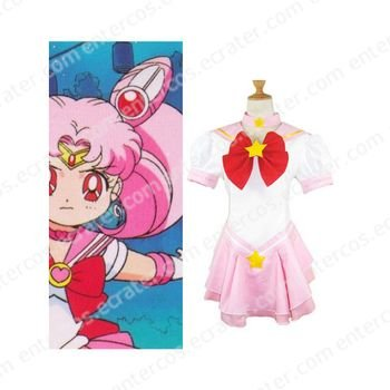 Sailor Moon Sailor Chibi Moon Chibiusa Cosplay Costume  any size