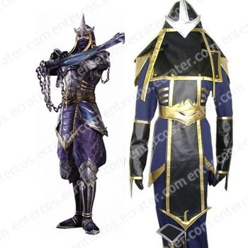 Samurai Warriors 2 Hattori Hanzou Masanari Cosplay Costume  any size