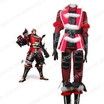 Samurai Warriors 2 Ishida Mitsunari Halloween Cosplay Costume  any size