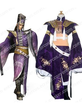 Dynasty Warriors 4 Sima Yi Cosplay Costume   any size
