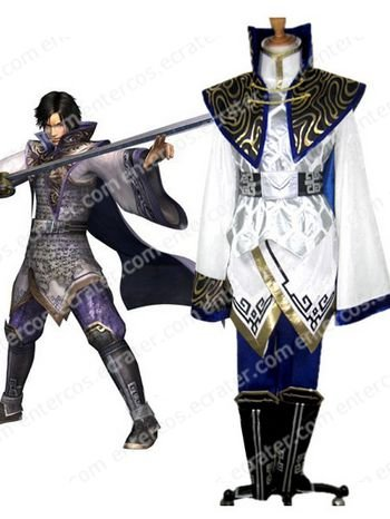 Dynasty Warriors 5 Cao Pi Cosplay Costume  any size