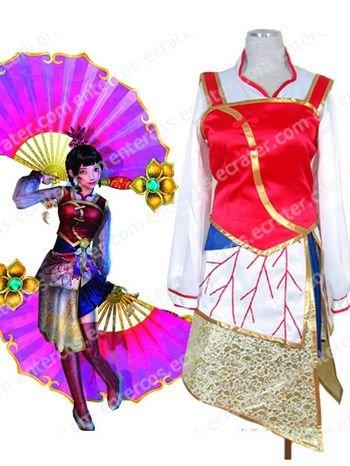 Dynasty Warriors Da Qiao Cosplay Costume any size