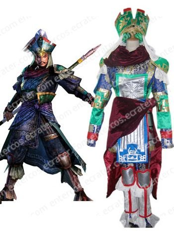 Dynasty Warriors Zhang Liao Cosplay Costume any size