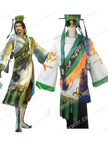 Dynasty Warriors Zhuge Liang Cosplay Costume any size