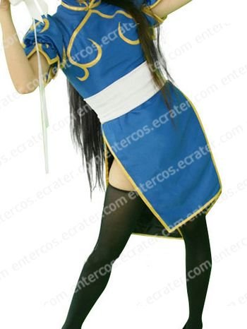 Street Fighter Chunli Halloween Cosplay Costume  any size