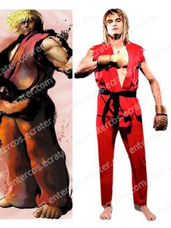 Street Fighter Ken Halloween Costume any size