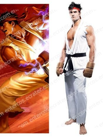 Street Fighter Ryu Adult Cosplay Costume any size