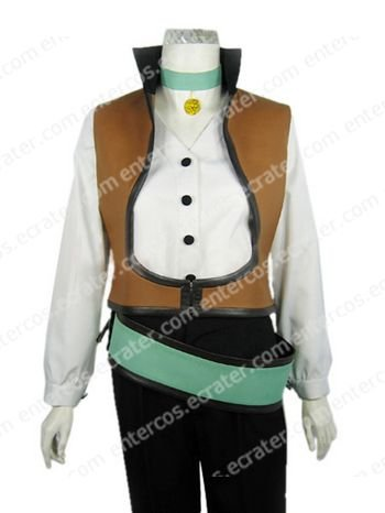 Tales of the Abyss Guy Cecil Halloween Cosplay Costume   any size
