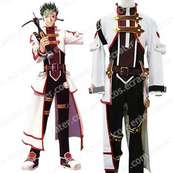The Legend of Heroes Sora no Kiseki Kevin Graham Halloween Cosplay Costume  any size