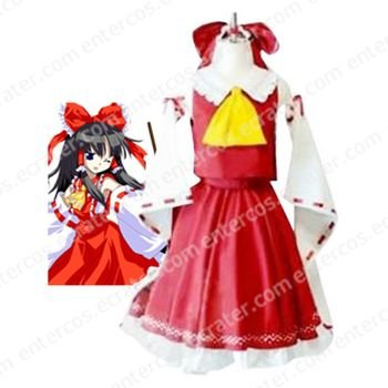 Phantasmagoria of Dim. Dream Reimu Cosplay Costume  any size