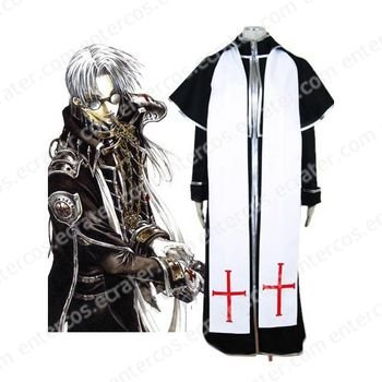Trinity Blood Abel Nightroad Halloween Cosplay Costume  any size