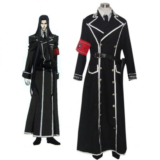 Trinity Blood Isaak Fernand von K?mpfer Cosplay Costume any size