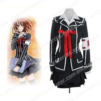 Vampire Knight Day Class girl Kurosu Yuuki Halloween Cosplay Costume  any size