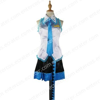 Vocaloid Crypton Halloween Cosplay Costume  any size