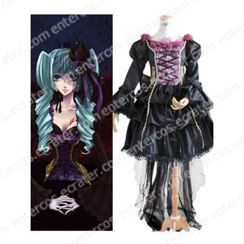 Vocaloid Miku Doujin Cosplay Costume any size