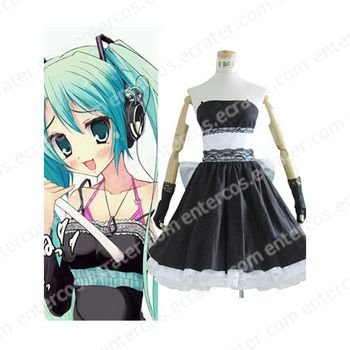 Vocaloid Miku Hatsune Cosplay Costume 2  any size