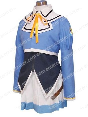Pia Carrot Blue Uniform Cosplay Costume  any size