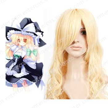 Cosplay wigs - Kirisame Marisa 80cm wigs from Project