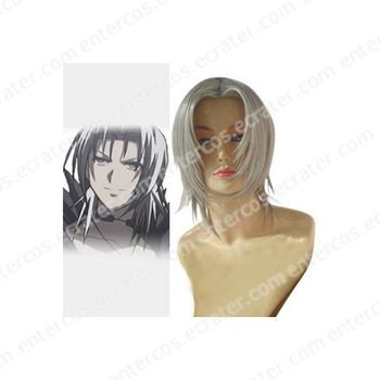 Black Butler Diskenth Commission Cosplay Wig