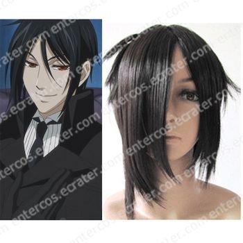 cospaly black wig from Kuroshitsuji