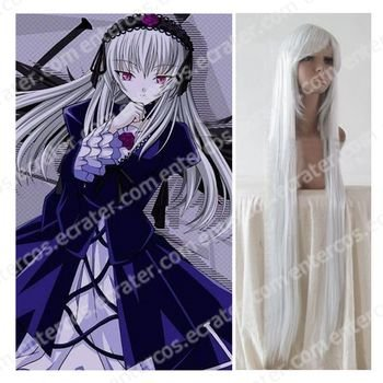 Cosplay wigs - Suigintou  wigs  white from Rozen Maiden