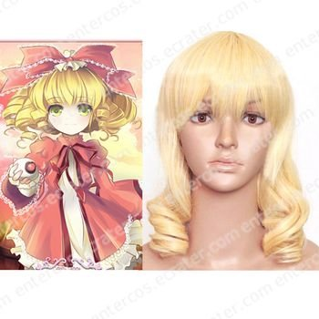 cosplay Hinaichigo curly wig from Rozen Maiden
