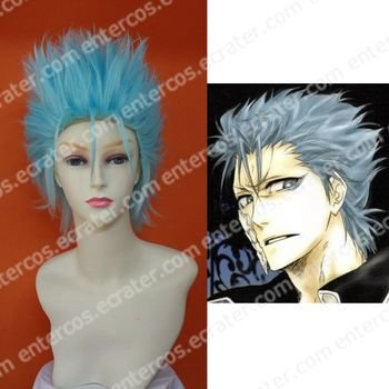 Cosplay Wig - Sexta Espada Grimmjow Jeagerjaques  wigs from Bleach