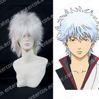 Cosplay Wig -  Sakata Gintoki wigs from gintama