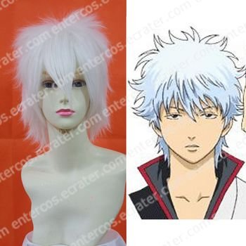 Cosplay Wig -  Sakata Gintoki wigs model.2 from gintama