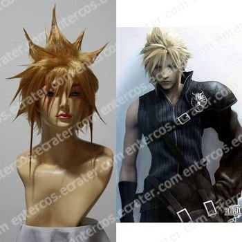 Cosplay Wig -  Cloud wigs  model. 2 from Final fantasy