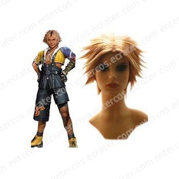 Final Fantasy X Tidus 25cm Cosplay Wig