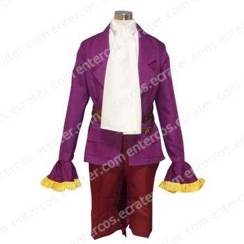 Purple Beatmania IIDX Cosplay Costume   any size