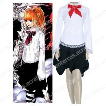 Death Note Amane Misa Cosplay Costume   any size