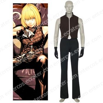 Death Note Mello Cosplay Costume 2 any size