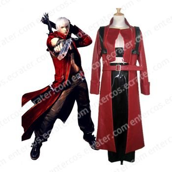 Devil May Cry 3 Dante Cosplay Costume any size