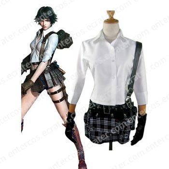 Devil May Cry 3 Dante's Awakening Lady Cosplay Costume any size