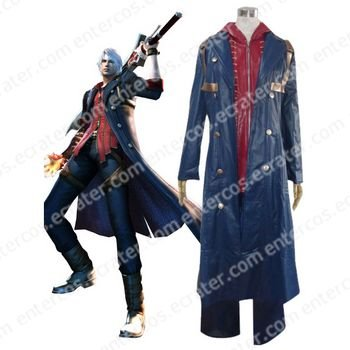 Devil May Cry 4 Nero Cosplay Costume any size
