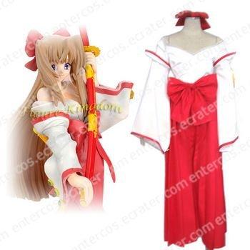 Kannazuki no Miko Himeko Kurusugawa Cosplay Costume  any size