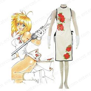 Battle Vixens Guan Yu Cheong-sam Cosplay Costume   any size