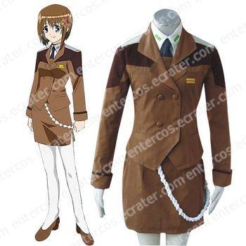 Mahou Shoujo Magical Girl Lyrical Nanoha Mobile Section 6 Cosplay Costume any size