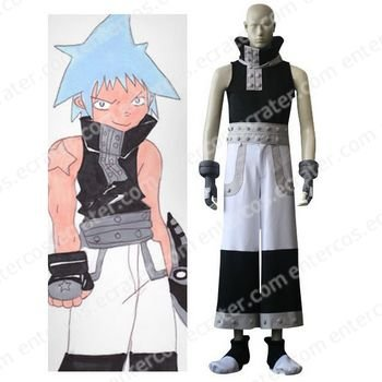 Soul Eater Black Star Cosplay Costume any size