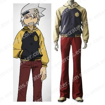 Soul Eater Evans Cosplay Costume   any size