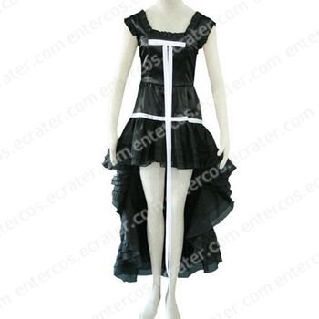 Chobits Chi Black Dress Cosplay Costume any size