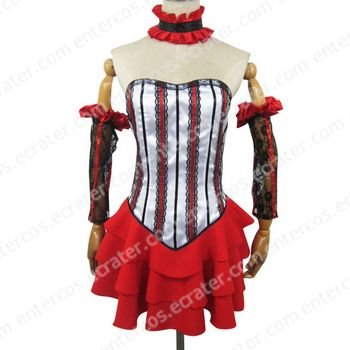 Chobits Chii Red Cosplay Costume  any size