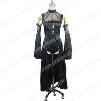 Chobits Freya Black Cosplay Costume  any size