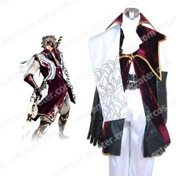 Devil Kings Sengoku Basara 2 Chosokabe Motochika Arslan Cosplay Costume any size