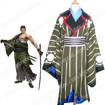 Sengoku Basara 2 Katakura Kojyuurou Cosplay Costume   any size