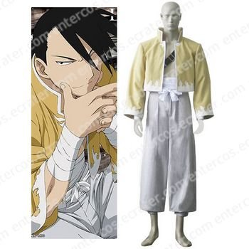 Fullmetal Alchemist Ling Yao Cosplay Costume any size